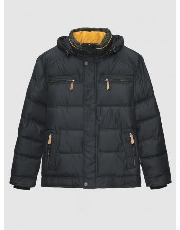 50 (L) – последний размер – куртка с клапаном серая Voяge мужская зимняя 200008 фото 1