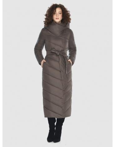 Зимняя капучиновая куртка стильная подростковая Moc M6471 фото 1