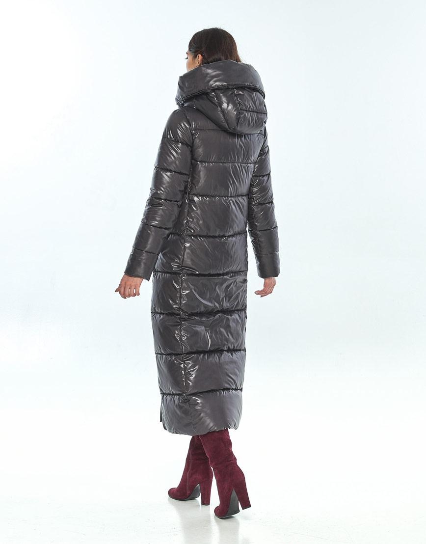 Серая женская модная куртка Vivacana 8706/21 фото 3